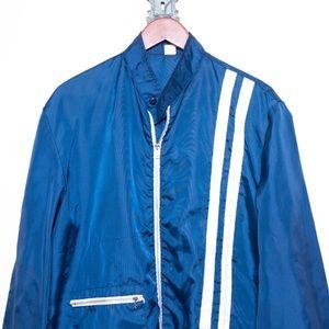 Vintage Men's Bowling Jacket / Nylon Windbreaker